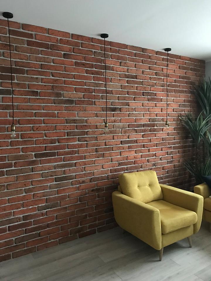 cegła naturalna na ścianę