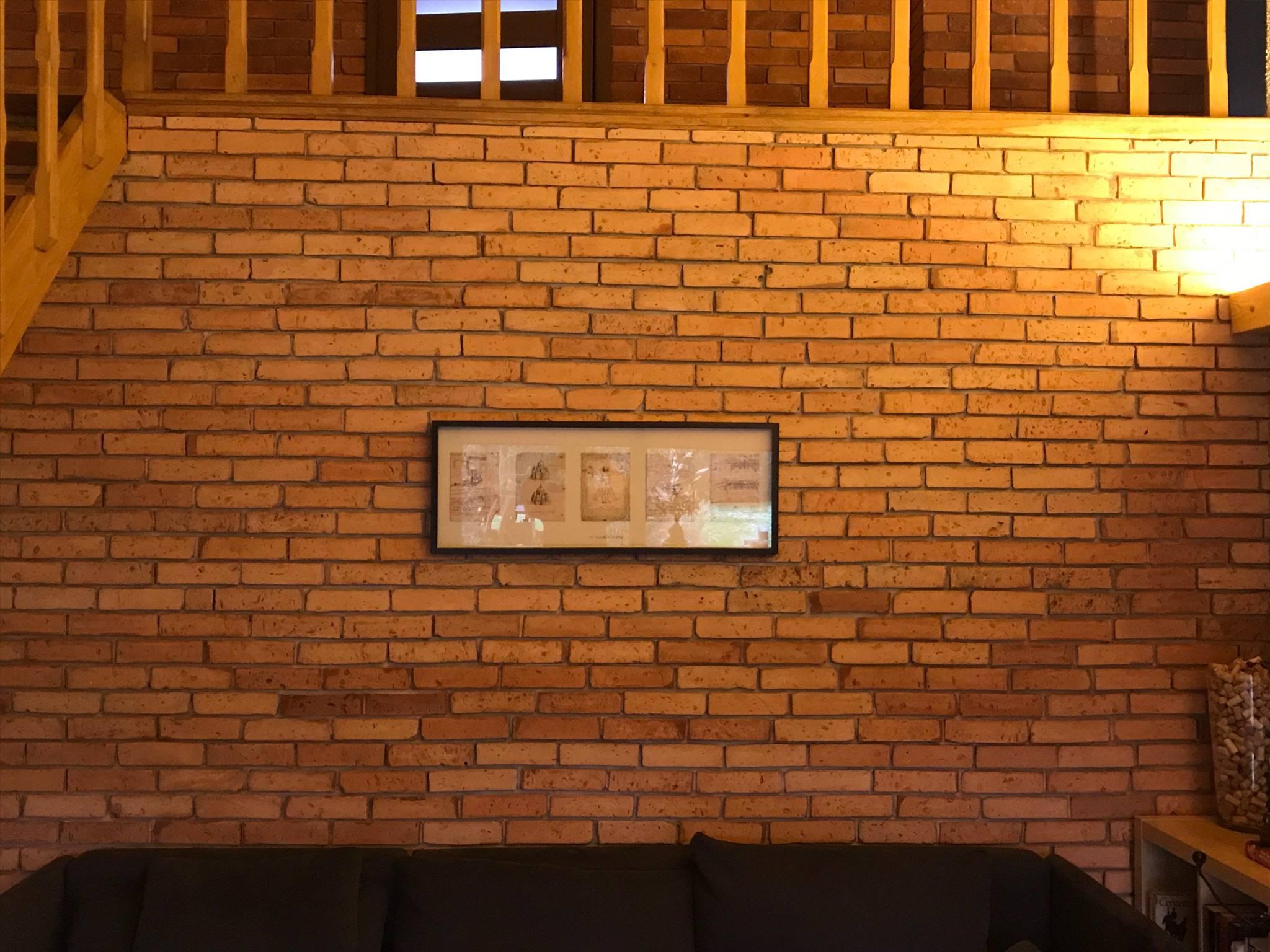 płytki loftowe na ścianie