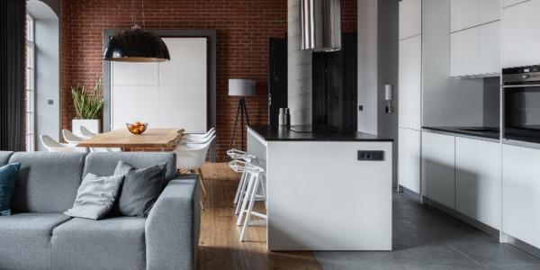 Zastosowanie płytek o wyglądzie cegły w aranżacji kuchni. Sprawdź nasze inspiracje!